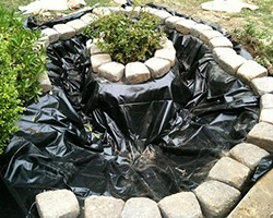 Flexible pond liner pond ideas S - Building Fish Ponds